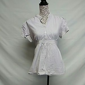 Mimi maternity Tie back maternity blouse